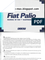 Manual de Usuario Fiat Palio G1