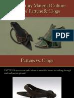 Footwear - Pattens