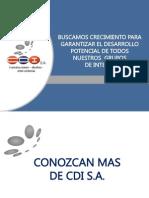 Brochure CDI S.A