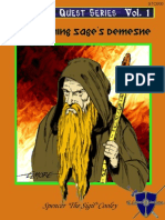 The Burning Sage's Demesne - Full (Includes Map, Covers)