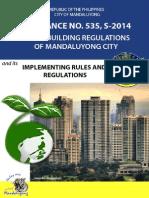 Mandaluyong Ordinance No. 535_Green Building Regulations
