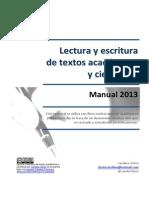 Lectura y Escritura de Textos Academicos y Cientificos 2013-Libre