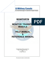 MonitorTm Help Manual