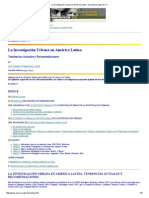 La Investigación Urbana en América Latina - Discussion paper No.pdf