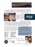 Olsen Newsletter March 2012
