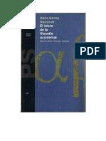 Gadamer Hans-Georg - El Inicio de La Filosofia Occidental 1995-Libre
