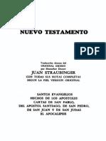 Biblia Straubinger Comentada Nuevo Testamento