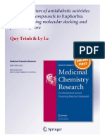 An Investigation of Antidiabetic Activities
