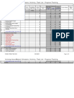 Project Simple Schedule Template