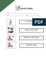 Activity Reading