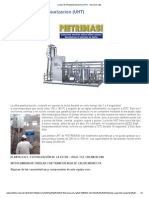 Lineas de Ultrapasteurizacion (UHT) - Assumar Ltda