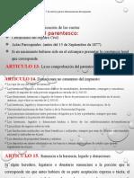 HERENCIAS LEGADOS Y DONACIONES
