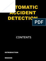 Seminar on Automatic Accident Detection