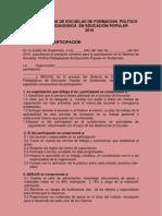 CONVENIO DE PARTICIPACION 2010