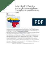 Goldman Sachs y Bank of America negocian un acuerdo para suministrar dólares a Venezuela con respaldo en sus reservas de oro.docx