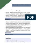 Tema 1 La Estadística Importancia, Organización y Presentación de Datos