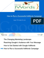 Run a Successfull Google Adword Campaign