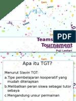 Teams Games Tournament