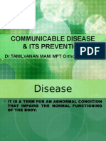 Communicable Disease & Its Prevention