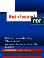 "Before, Understanding ""Recession"", We Need to Understand"