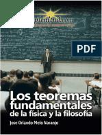 Teoremas Fundamentales Física Filosofía