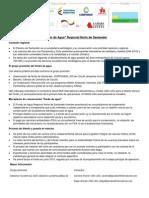 Hoja Informativa Fondo de Agua Norte de Santander