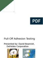 Coating Adhesion Testing