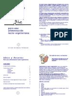 Libro de Cocina Vegetariana - Libro de Ideas y Recetas Para Una Alimentación Lacto Vegetariana
