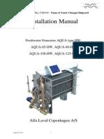 Freshwater Generator AQUA Type HW