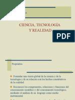 Ciencia, tecnología y realidad.ppt