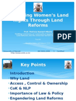 Women and Land - Prof. Patricia Kameri-Mbote