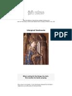 Reled104 - Liturgicak Vestments