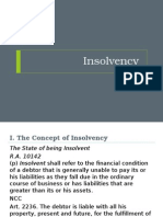 Basic Concepts on Insolvency
