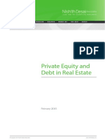 Private Equity and Debt in Real Estate