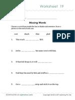 Oz Phonics Worksheet 19