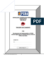 Tender_PCRA Android Mobile Application 2012