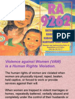RA 9262 for VAW Desk Officers