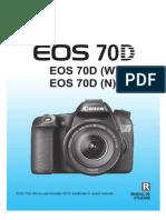 EOS 70D Instruction Manual RO