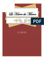 french menu finale