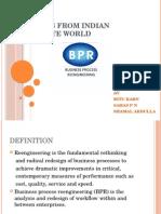 Bpr Examples