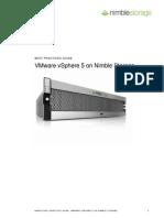 Bpg Nimble Storage Vmware Vsphere5