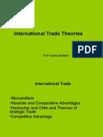 International Trade (Theory)
