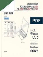 Sony Vaio service manual
