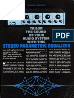 John Roberts Parametric EQ Audio Project