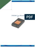 Teltonica Fm3200 User Manual v0.7