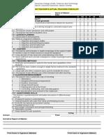 Demo Checklist (GGCAST)