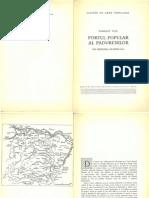 """""""Portul popular al padurenilor"""" din regiunea Hunedoara, de Romulus Vuia, 1958"""