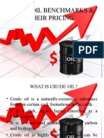 Crude Oil Benchmarks & their Pricing.pptx