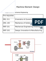 machine elements design