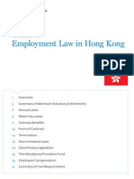 Guide to Employment Law in Hong Kong